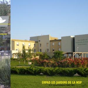 Maison de Santé Protestante • Les jardins de la MSP