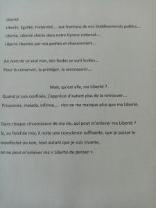 2020.06.30 - Mme Gaven 86 ans - sources de la garrigue Nîmes